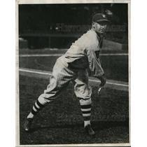"1930 Press Photo Washington Senators' pitcher Irving ""Bump"" Hadley"