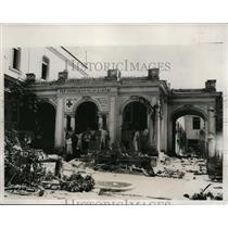 1933 Press Photo House of Dr Ramiro Manalich Head Press Censorship Cuba