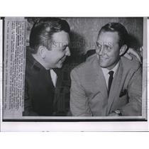 1964 Press Photo Athletics manager Mel McGahs & general manager Pat Friday