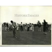 1935 Press Photo Henry Picard, Johnny Revolta in International 4 Ball golf Miami