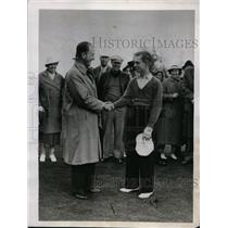 1937 Press Photo George T Dunlap, Bobby Dunkleberger for North & South golf