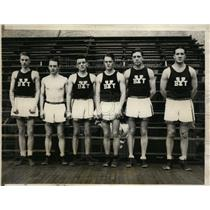 1927 Press Photo Yale boxing team Paul Jones, Spence Pitts, Wallie Ritchie