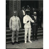 1924 Press Photo AA Adams Leader Virgin Island Band , Sec Davis of Dept Labor