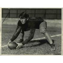 1930 Press Photo Herman Elckmeyer, Center University of California Football Team
