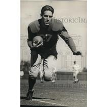 1934 Press Photo Buck Van Dellen, Halfback for Stanford