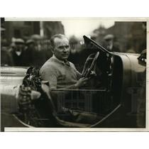 1929 Press Photo Ray Kuck, relief driver for the Triplex Auto made by W. White