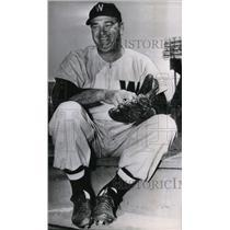 1952 Press Photo Bobo Newsom, Relief Pitcher for Washington Senators