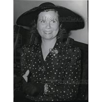 1942 Press Photo Los Angeles, Mrs Ruth Marx wins divorce Julius Groucho Marx