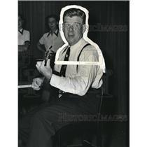 1953 Press Photo Arthur Godfrey in The Godfrey Sunday Hour on CBS Radio