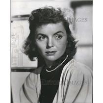 1952 Press Photo Dorothy McGuire Theater Guild Sun Radio