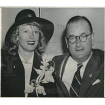 1943 Press Photo British Actress Anna Neagle Marries Producer Herbert Wilcox