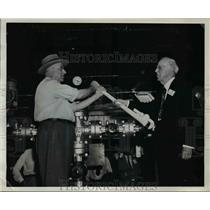 1946 Press Photo Shell Oil on Weeks Island Louisiana