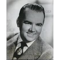 1949 Press Photo Johnny Olsen in stars in Johnny Olsen's Get-Together on KEX.