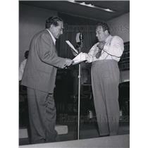 1948 Press Photo J Carrol Naish and Alan Reed in Life With Luigi