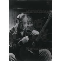 1949 Press Photo Singer Burl Ives to Sing at Neighbors in Woodcraft Auditorium