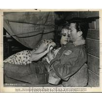 1962 Press Photo Laurence Harvey & Jane Fonda in Walk on the Wild Side