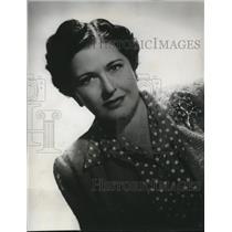 1944 Press Photo Louella Parsons Hollywood Columnist
