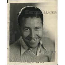 1930 Press Photo Jack Oakie
