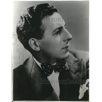 1937 Press Photo Enzio Pinza