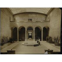1916 Press Photo Cleveland Museum of Art & Interior - cva97025