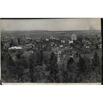 1931 Press Photo Spokane city scene - spa02662