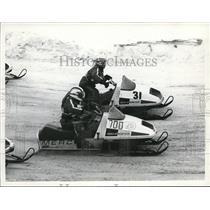 1974 Press Photo The world's championship of snowmobile derby - cva78554