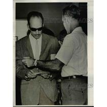 1963 Press Photo One of the ten returning Cuban Refugees at Miami Intl. Airport