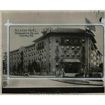 1926 Press Photo Alcazar Hotel, Derbyshire road and Surrey road - cva90522