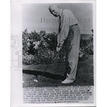 1955 Wire Photo Canada's Prime Minister Louis St. Laurent - cvw06417