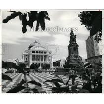 1978 Press Photo Opera house facing Plaza of the Four Continents, Manaus Brazil
