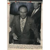 1974 Wire Photo Canadian Prime Minister Pierre Elliott Trudeau - cvw07613