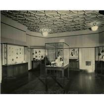 1923 Press Photo Interior of the Cleveland Museum of Natural History - cva96775
