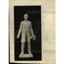1928 Press Photo The statue of Lincoln by Max Kallish - cva89756