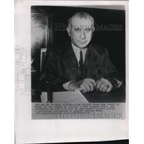 1949 Wire Photo Prime Minister Hasan Saka of Turkey - cvw06416