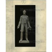 1929 Press Photo Life Size Statue of Abraham Lincoln - cvb00427