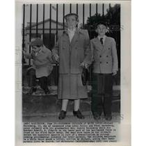 1953 Wire Photo Michael Rosenberg, son of condemned atom spies Julius & Ethel