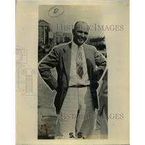 1927 Press Photo George Townsend official starter of a race  - nee86138
