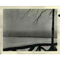 1932 Press Photo Cleveland Skyline - cvb00093