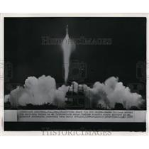 1957 Wire Photo Successful launching of Jupiter through the sky - cvw14319