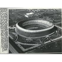 1971 Wire Photo The Veterans Stadium in Philadelphia - cvw09988