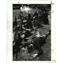 1987 Press Photo Re enactment of the Civil War - cva97762
