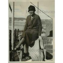 1926 Press Photo Marion G.Hennion, American Dancer and Actress  - nee86224