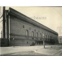 1924 Press Photo Cleveland Public Hall - cva86320