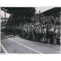 1940 Press Photo The crowd during the Soap Box Derby - cva78550