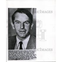 1958 Wire Photo Frederick Sanger Shown in His Cambridge, England Home