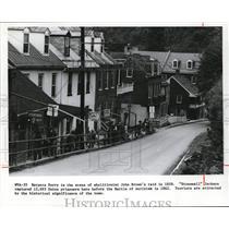 1975 Press Photo Harpers Ferry, West Virginia - cvb04649