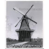 1980 Press Photo200-year-old Dutch Windmill De Zwaan, Windmill Island, Holland
