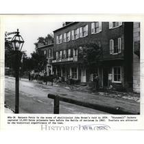 Press Photo Harpers Ferry, West Virginia - cvb04650