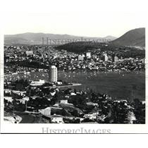 1977 Press Photo The Wrest Point Hotel-Casino in Hobart, Tasmania - cvb04717