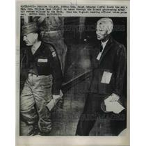 1953 Press Photo Gen Ralph Osborne, Maj Gen William Dean in Korea  - nee85934